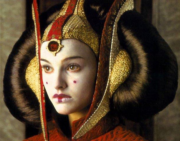 Queen Amidala Hair