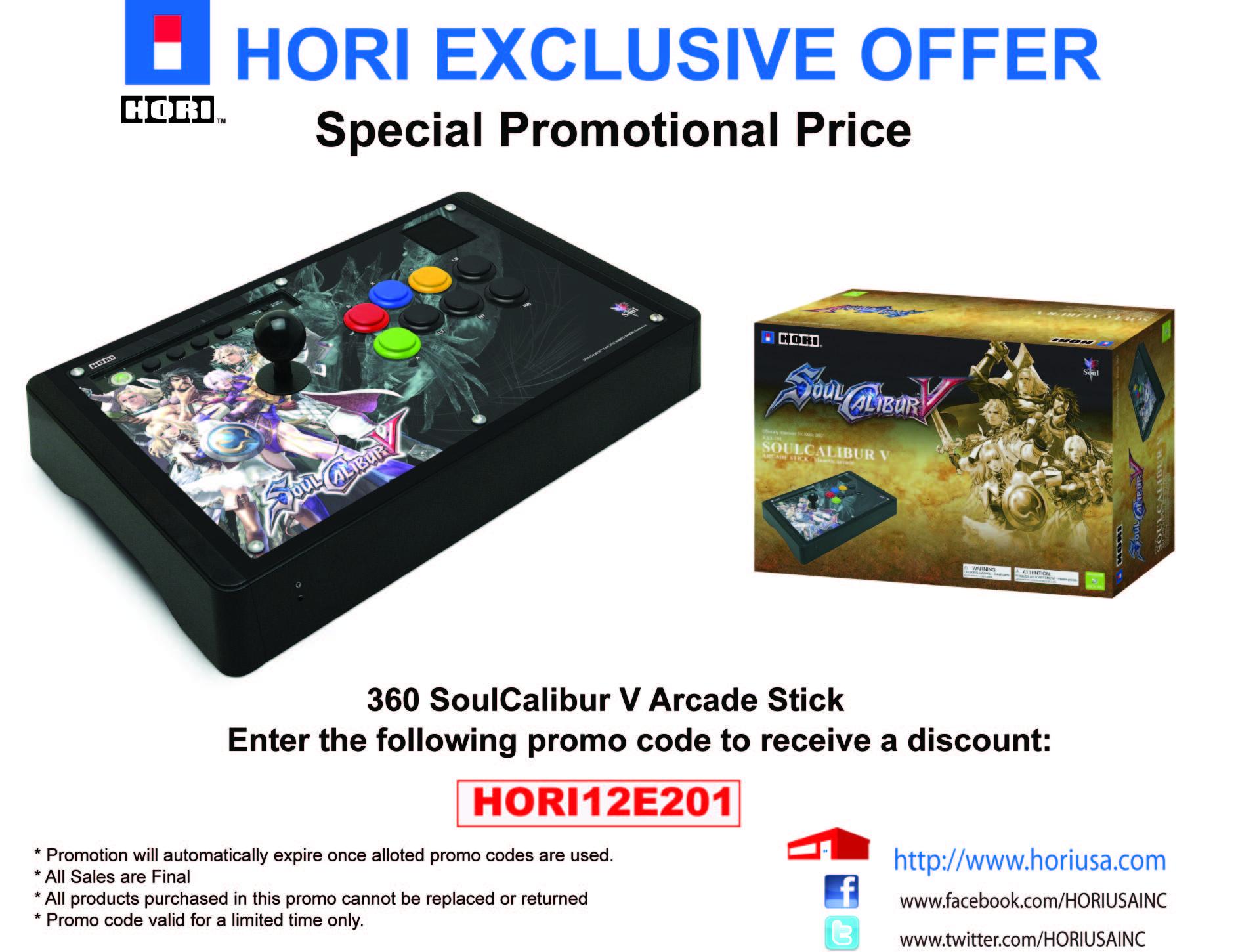 Hori SC5 Arcade Stick Promotion Extended! | 8WAYRUN
