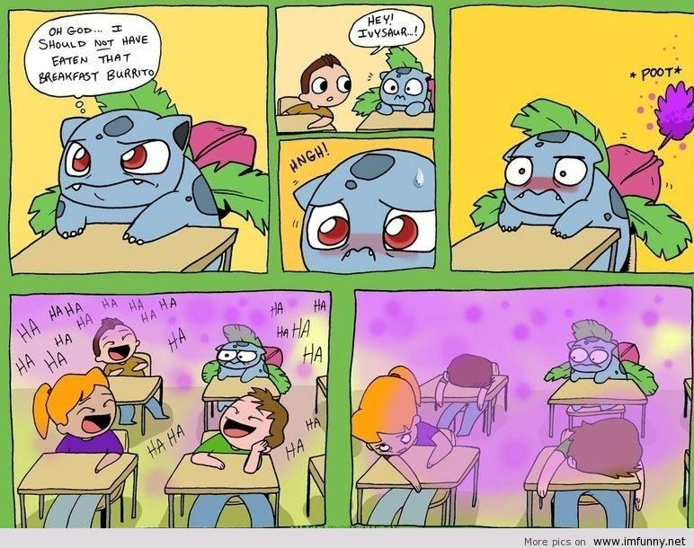 Funny situations with pokemon