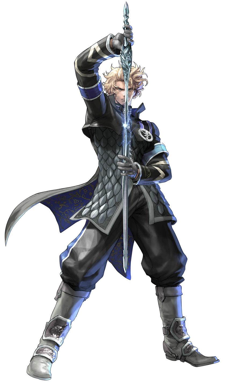 Anime Characters Soul Calibur 5 : α patroklos wayrun