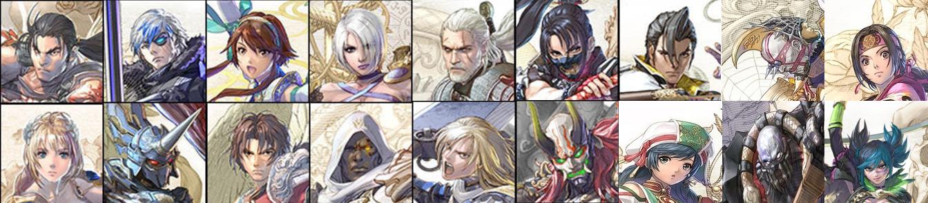 Soulcalibur VI roster.png