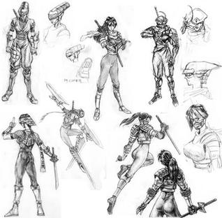 Taki Soul Edge character design.png