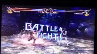 Paisa Borracho (Paisa Troll) got defeated and loses to me in Soul Calibur 5 on Xbox 360!!!