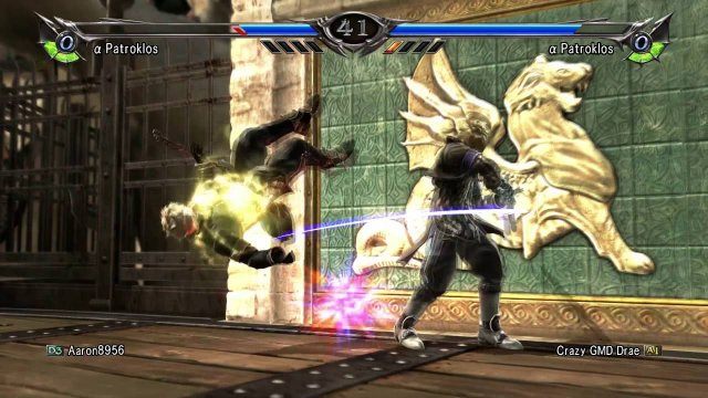 "SOULCALIBUR V - ""Virtuosity of α Patroklos"""