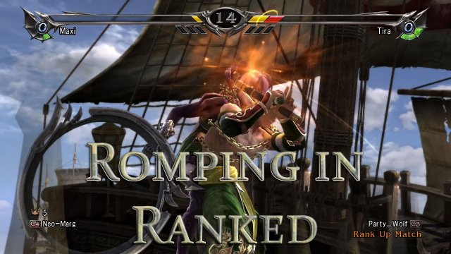 Romping in Ranked 66: Crashing Party Wolf's Stream
