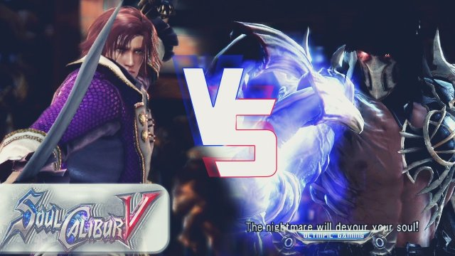 Marceos (Cervantes) Vs SpazyOranges (Nightmare) SoulCalibur 5/V Xbox 360 Gameplay