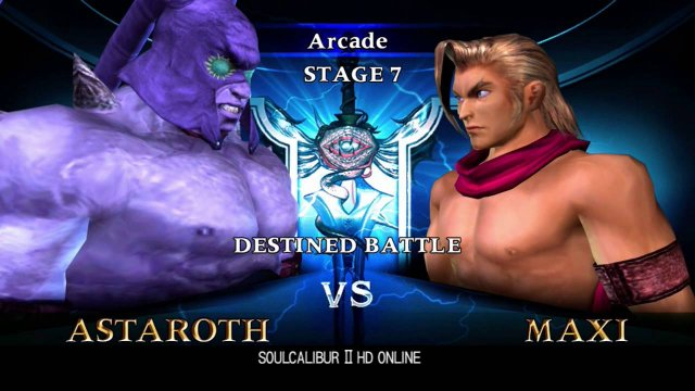 Soulcalibur II HDO: Extremely Hard Arcade playthrough as Astaroth